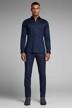 PREMIUM by JACK & JONES Hemden (lange mouwen) blauw JJPRPARMA SHIRT LS_NAVY BLAZER img6