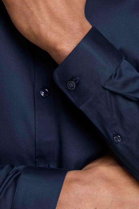 PREMIUM by JACK & JONES Hemden (lange mouwen) blauw JJPRPARMA SHIRT LS_NAVY BLAZER img8