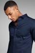 PREMIUM by JACK & JONES Hemden (lange mouwen) blauw JJPRPARMA SHIRT LS_NAVY BLAZER img9