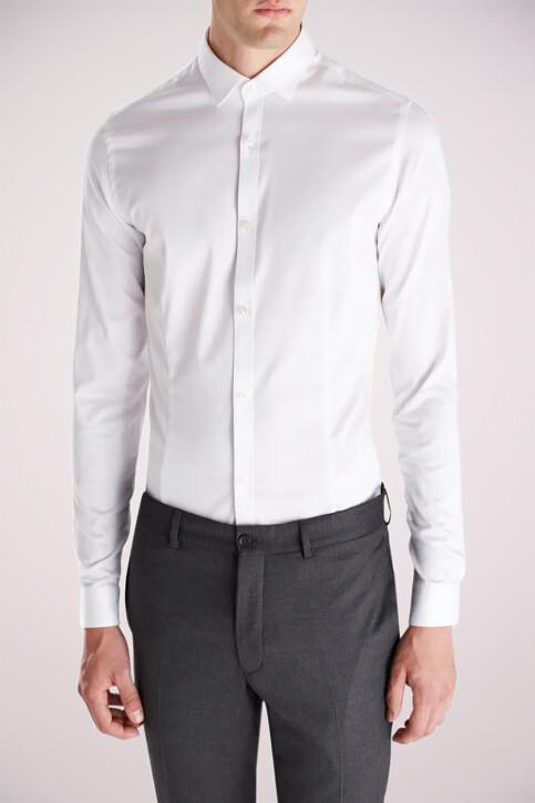 PREMIUM by JACK & JONES Hemden (lange mouwen) wit JJPRPARMA SHIRT LS_WHITE img3
