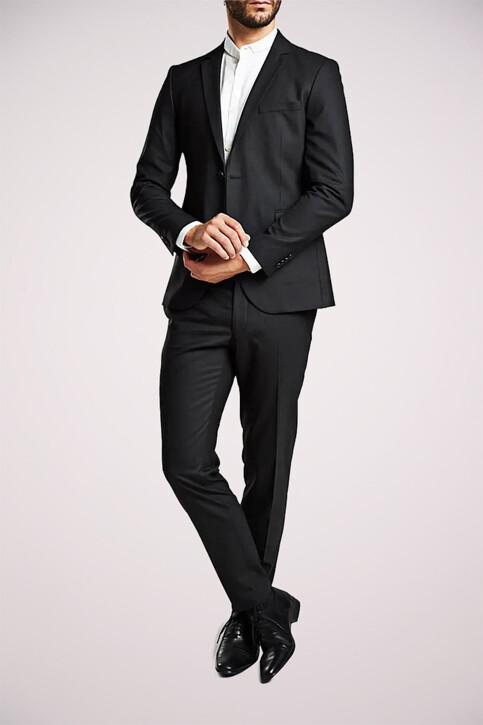 PREMIUM by JACK & JONES Pantalons de costume noir JJROY TROUSERS_BLACK img6