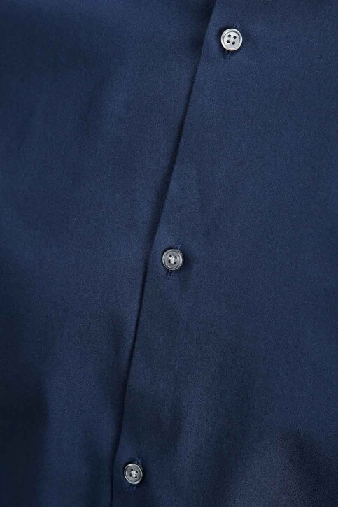 PREMIUM by JACK & JONES Chemises (manches longues) bleu JPRNON IRON SHIRT LS_NAVY BLAZER img5
