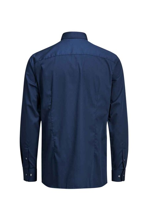 PREMIUM by JACK & JONES Chemises (manches longues) bleu JPRNON IRON SHIRT LS_NAVY BLAZER img8