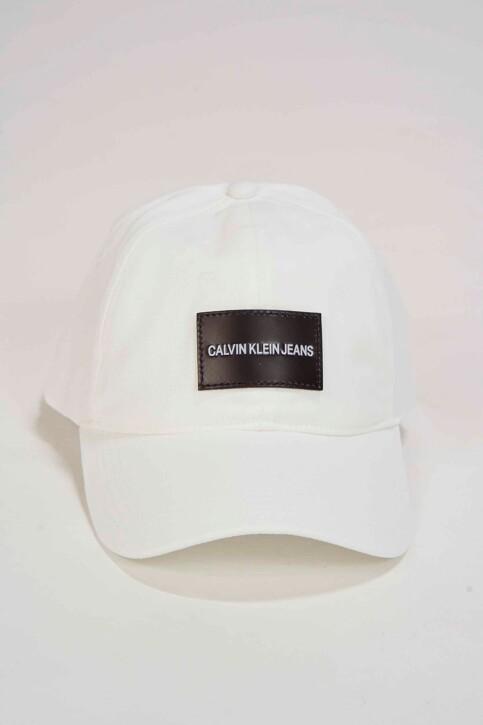 Calvin Klein Casquettes blanc K60K605281_107 BRIGHT WHIT img1