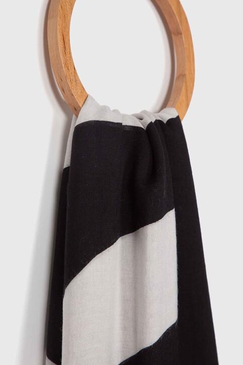 Calvin Klein Zomersjaals zwart K60K605700016_016 BLACK BEAUT img2