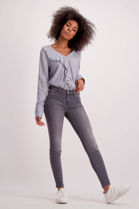 Lee® Jeans skinny gris L526FPRG_GUNMETALMIDGRE img2