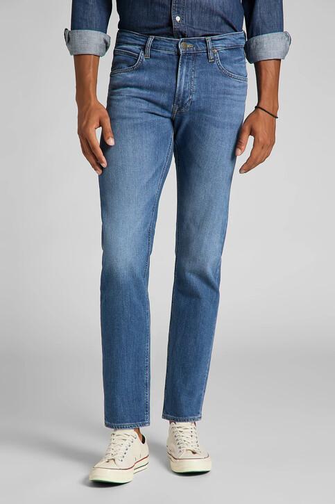 Lee® Jeans straight MID BLUE DENIM L707PXGQ_DARK FREEPORT img1