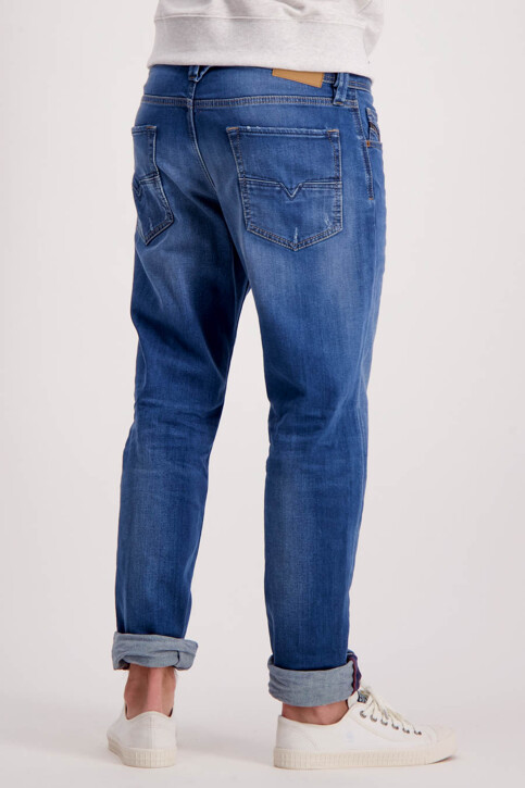 DIESEL Jeans tapered denim LARKEE BEEX_084QQMID BLUE img3