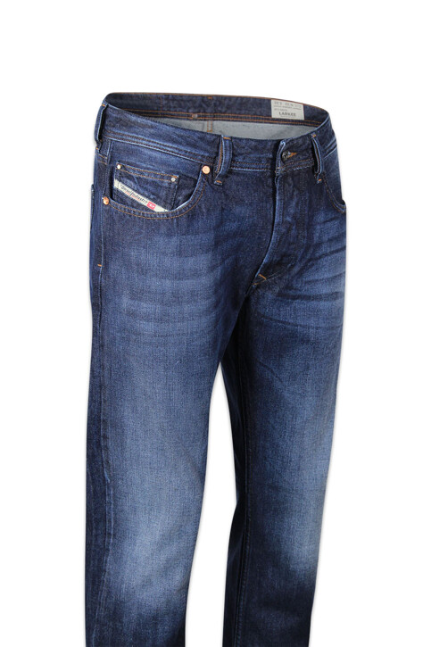 DIESEL Jeans straight denim LARKEE_0823GDARK BLUE img5