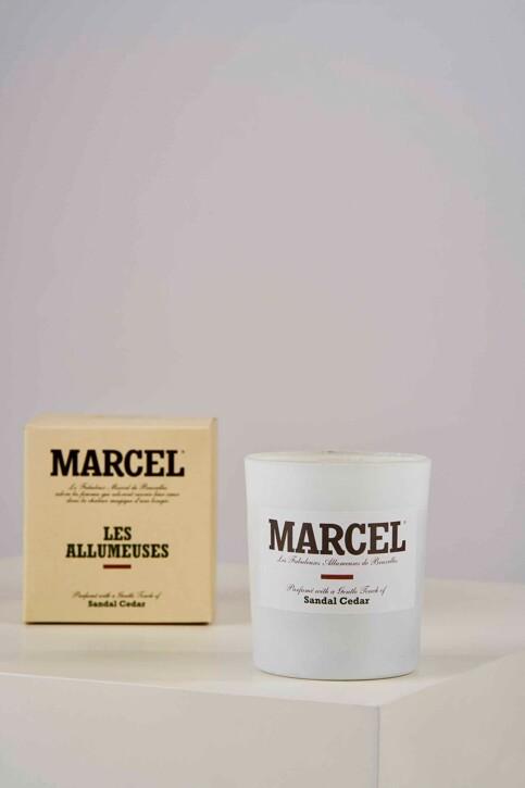 Le Fabuleux Marcel de Bruxelles Kaarsen bruin LES ALLUMEUSES_SANDAL CEDAR img1