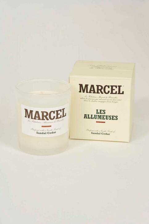 Le Fabuleux Marcel de Bruxelles Kaarsen bruin LES ALLUMEUSES_SANDAL CEDAR img2