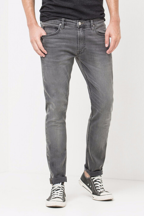 Lee® Jeans tapered noir LUKE_BLACK LEAD img1