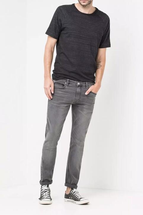 Lee® Jeans tapered noir LUKE_BLACK LEAD img2