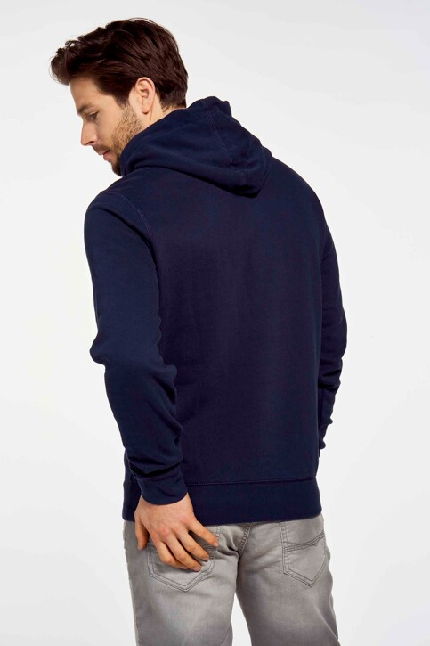 Petrol Industries® Sweaters met kap blauw M1010SPSWH314_5147 DARK PETRO img3