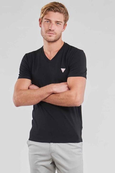 Guess® T-shirts (manches courtes) noir M1RI32J1311_JBLK JET BLACK img1