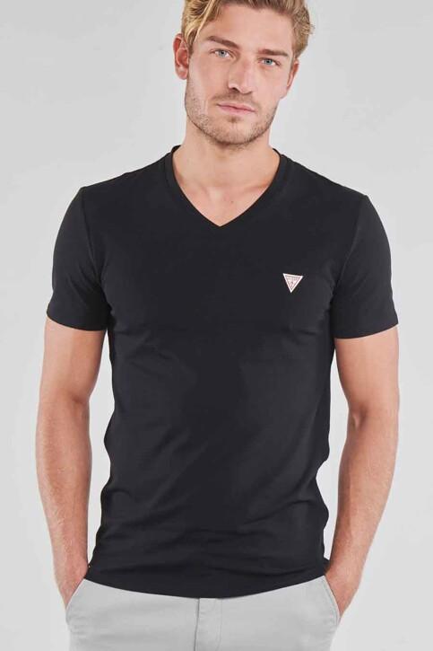 Guess® T-shirts (manches courtes) noir M1RI32J1311_JBLK JET BLACK img4