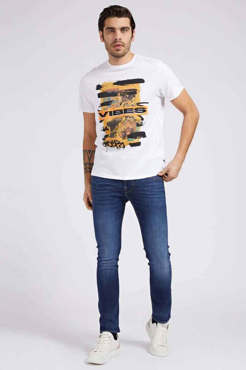 Guess® Jeans straight denim M1YAN2D4GV5_1CRM MID BLUE img1