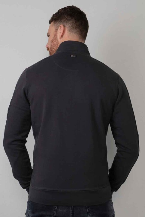 Petrol Industries® Sweaters (gilet) blauw M3010SWC322_5110 DARK NAVY img2