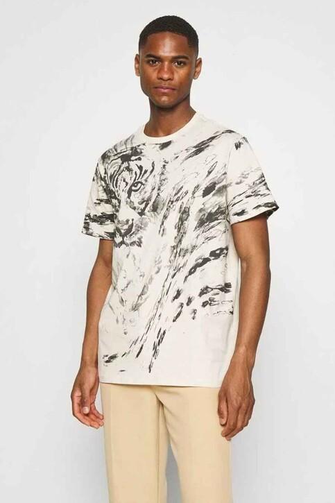 Guess® T-shirts (korte mouwen) ecru MBYI03R8FY3_F1U5 OLYMPIC IV img1