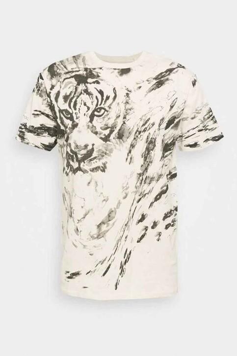Guess® T-shirts (korte mouwen) ecru MBYI03R8FY3_F1U5 OLYMPIC IV img4