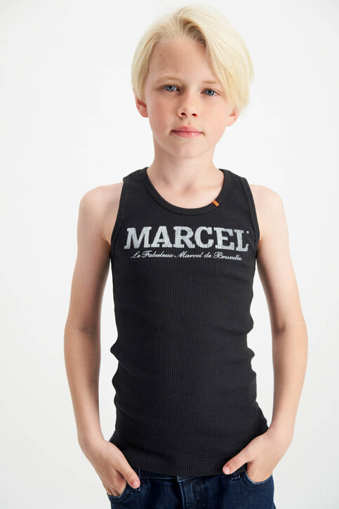Le Fabuleux Marcel de Bruxelles Tanktops zwart MDB MARCELLEKE_BLACK img2