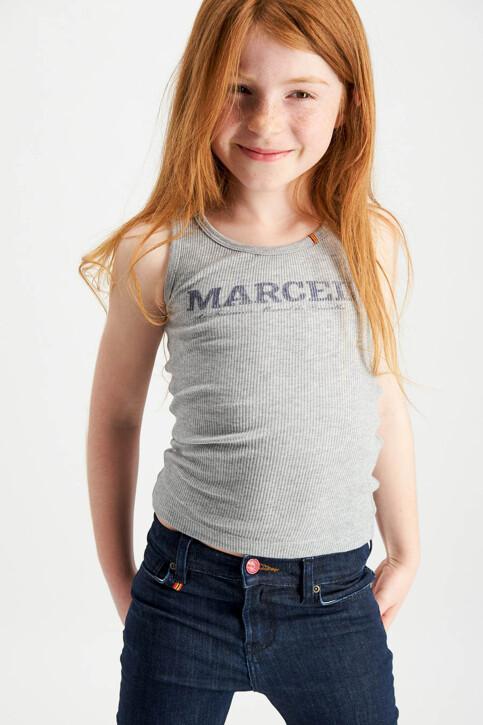 Le Fabuleux Marcel de Bruxelles Tanktops grijs MDB MARCELLEKE_GREY MELEE img2