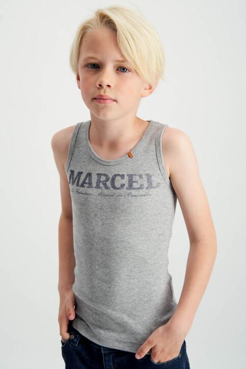 Le Fabuleux Marcel de Bruxelles Tanktops grijs MDB MARCELLEKE_GREY MELEE img3