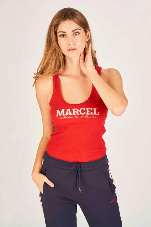 Le Fabuleux Marcel de Bruxelles Débardeurs rouge MDB NOOS FAB NEW_CRIMSON RED img1