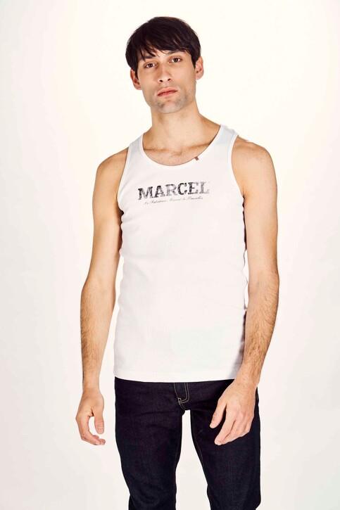 Le Fabuleux Marcel de Bruxelles Débardeurs blanc MDB NOOS PABLO_WHITE img1