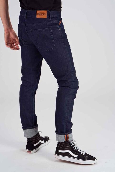 Le Fabuleux Marcel de Bruxelles Jeans straight denim MDB184MT 001_DARK DENIM img6