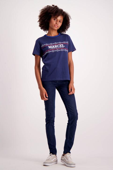 Le Fabuleux Marcel de Bruxelles Jeans skinny denim MDB184WT 005_DARK DENIM img2