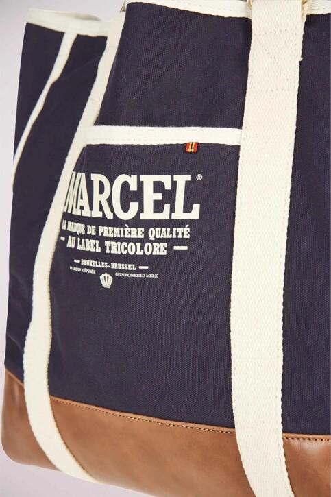Le Fabuleux Marcel de Bruxelles Schoudertassen blauw MDB191MA 004_NAVY img5