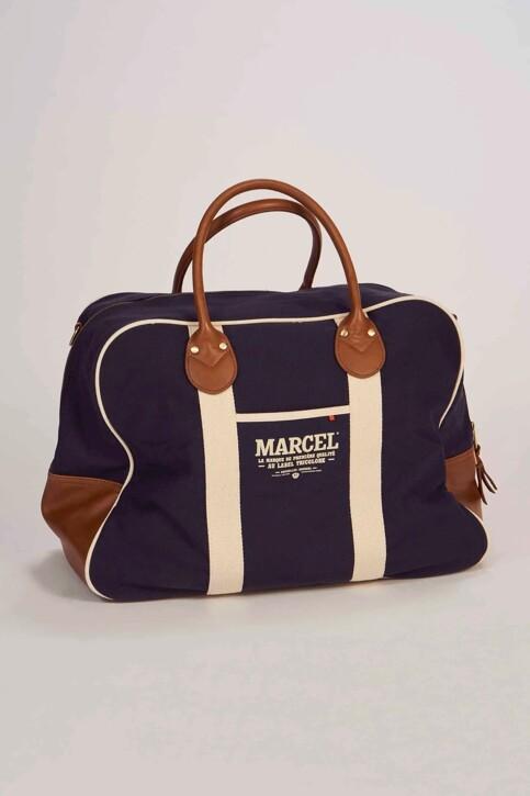 Le Fabuleux Marcel de Bruxelles Sacs en bandoulière bleu MDB191MA 005_NAVY img1
