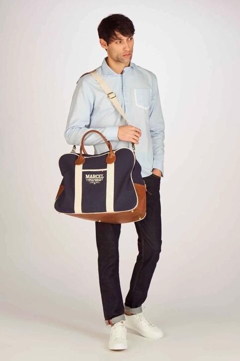 Le Fabuleux Marcel de Bruxelles Sacs en bandoulière bleu MDB191MA 005_NAVY img2
