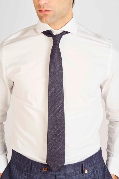 Le Fabuleux Marcel de Bruxelles Cravates bleu MDB191MA 010_BLUE img2