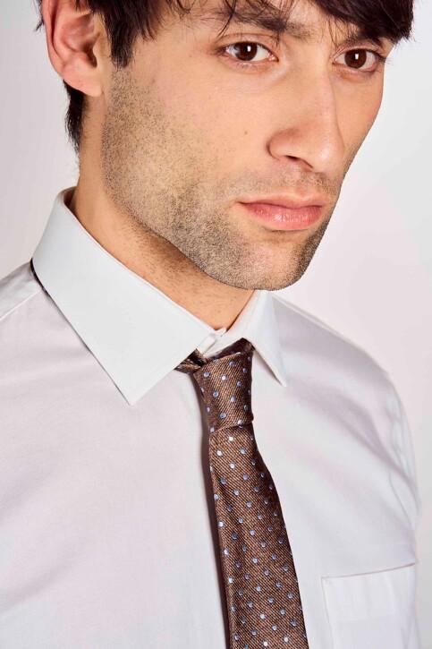 Le Fabuleux Marcel de Bruxelles Cravates brun MDB191MA 010_BROWN img2
