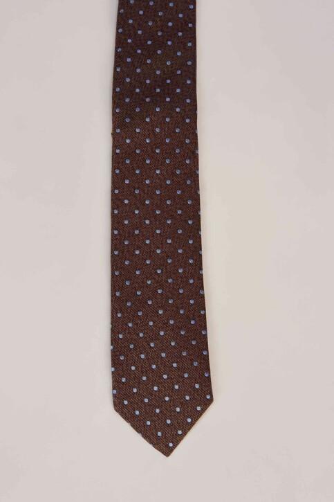 Le Fabuleux Marcel de Bruxelles Cravates brun MDB191MA 010_BROWN img3