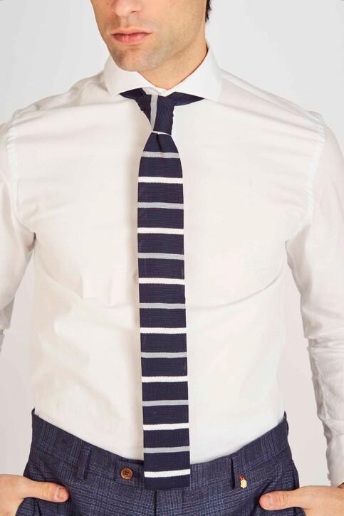 Le Fabuleux Marcel de Bruxelles Cravates bleu MDB191MA 011_NAVY img2