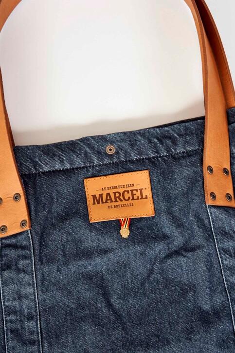 Le Fabuleux Marcel de Bruxelles Sacs en bandoulière denim MDB192WA 002_DENIM img4