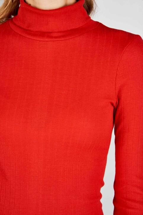 Le Fabuleux Marcel de Bruxelles Tops uni manche longue rouge MDB192WT 005_CRIMSON RED img4