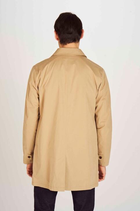 Le Fabuleux Marcel de Bruxelles Vestes longues beige MDB193MT 001_BEIGE img3
