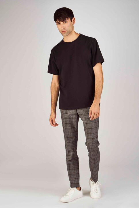 Le Fabuleux Marcel de Bruxelles T-shirts (korte mouwen) zwart MDB194MT 013_BLACK img2