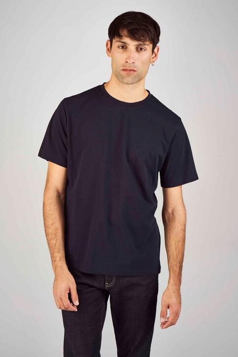 Le Fabuleux Marcel de Bruxelles T-shirts (korte mouwen) blauw MDB194MT 015_NAVY img1