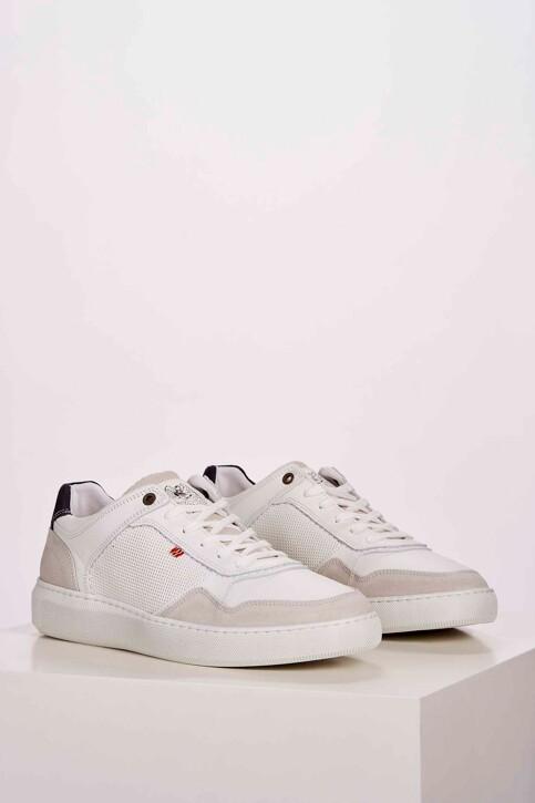 Le Fabuleux Marcel de Bruxelles Sneakers wit MDB201MA 001_WHITE img1