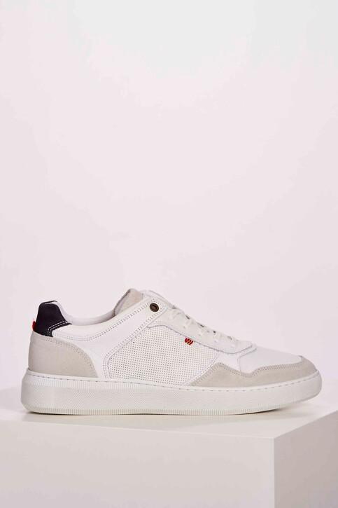 Le Fabuleux Marcel de Bruxelles Sneakers wit MDB201MA 001_WHITE img2