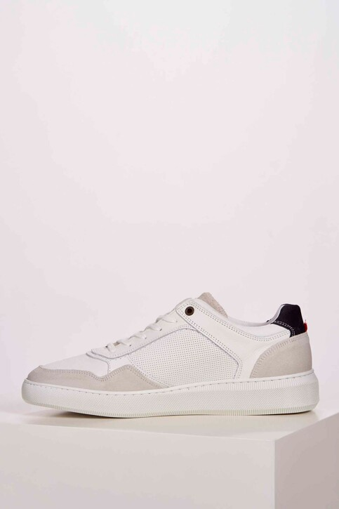 Le Fabuleux Marcel de Bruxelles Sneakers wit MDB201MA 001_WHITE img3