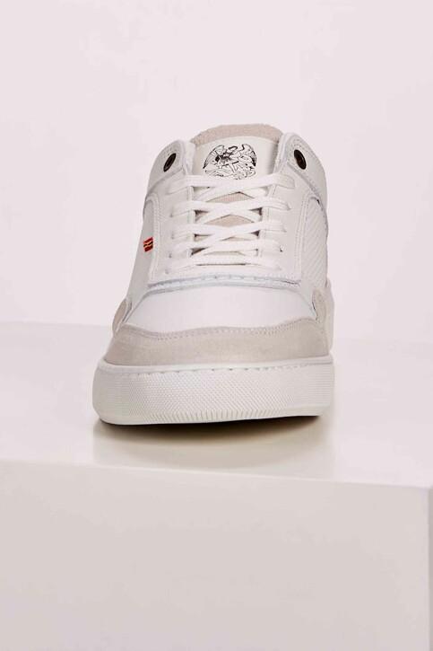 Le Fabuleux Marcel de Bruxelles Sneakers wit MDB201MA 001_WHITE img4