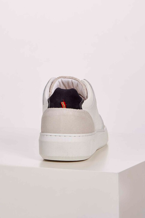 Le Fabuleux Marcel de Bruxelles Sneakers wit MDB201MA 001_WHITE img5