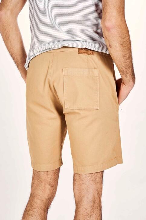 Le Fabuleux Marcel de Bruxelles Shorts beige MDB201MT 027_SAHARRA img3
