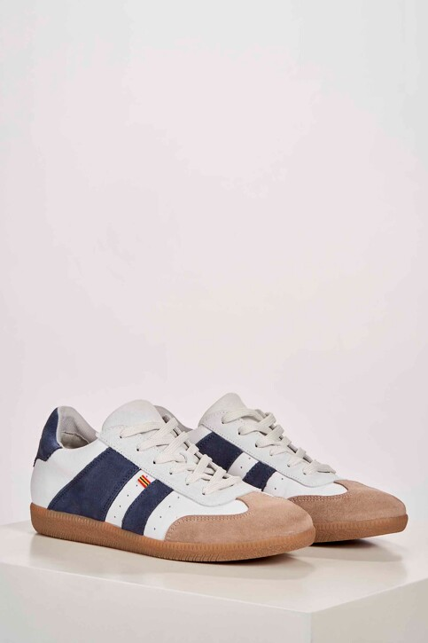 Le Fabuleux Marcel de Bruxelles Sneakers wit MDB201WA 002_WHITE img1